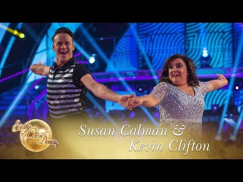 Susan And Kevin Cha Cha To 'Shout Out To My Ex' By Little Mix - Strictly Come Dancing 2017