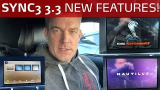 SYNC3 3.3 New Features Shelby Mustang GT500 and Lincoln Nautilus