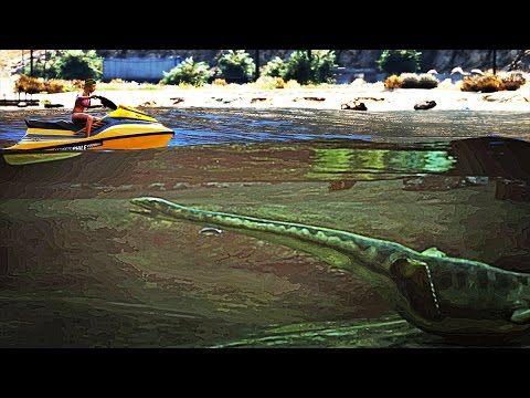 GTA 5 Loch Ness Monster Found? (GTA 5 Easter Eggs)