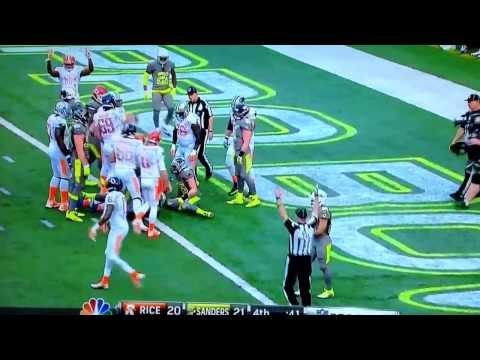 2013 Pro Bowl 2 Point Score