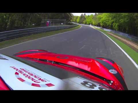Onboard in the Nürburgring 24-hour Rookie Training program 2012!
