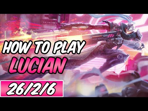 HOW TO PLAY LUCIAN | Build & Runes | Diamond Commentary | PROJECT: Lucian | League Of Legends | S9
