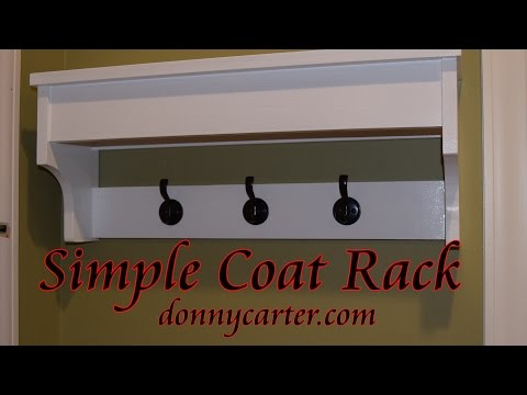 Simple Coat Rack