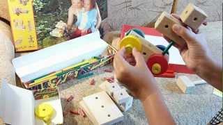 Деревянный конструктор Матадор серии Ki - обзор набора