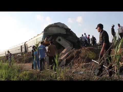 Egypt train collision kills at least 36: ministry