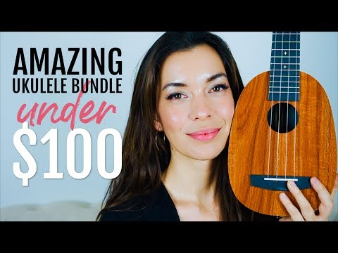 Enya EUP-X1 Pineapple Ukulele Review - Available on Amazon (and AFFORDABLE)