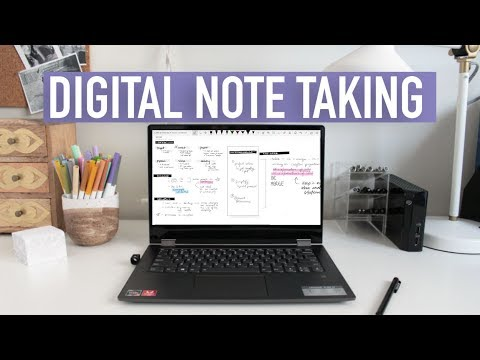 DIGITAL NOTE TAKING TIPS | OneNote + Handwriting