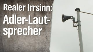 Realer Irrsinn: Lautsprecher gegen Adler | extra 3 | NDR