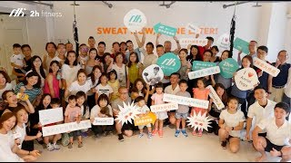 2h fitness 開幕影片