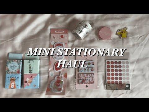 Mini stationary haul