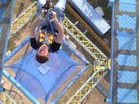Steven Poulin in the free fall at zero gravity in dallas