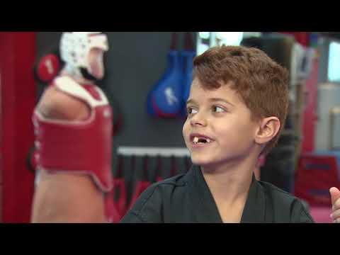 8-year-old martial arts sensation