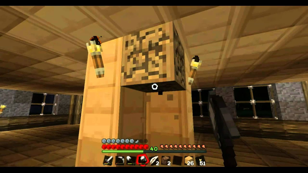 Minecraft 51 Das Problem Mit Dem Zaun Let S Play Ger Hd