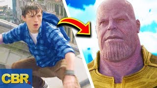 What The Spider-Man Far From Home Trailer Means For Avengers Endgame