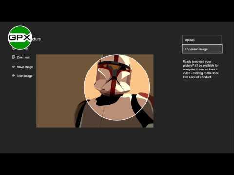 Как изменить картинку пользователя на свою в Xbox One!