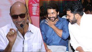சூர்யா கார்த்தி முன்னிலையில் சிவகுமாரை கலாய்த்த சத்யராஜ் | Kadaikutty Singam Success Meet