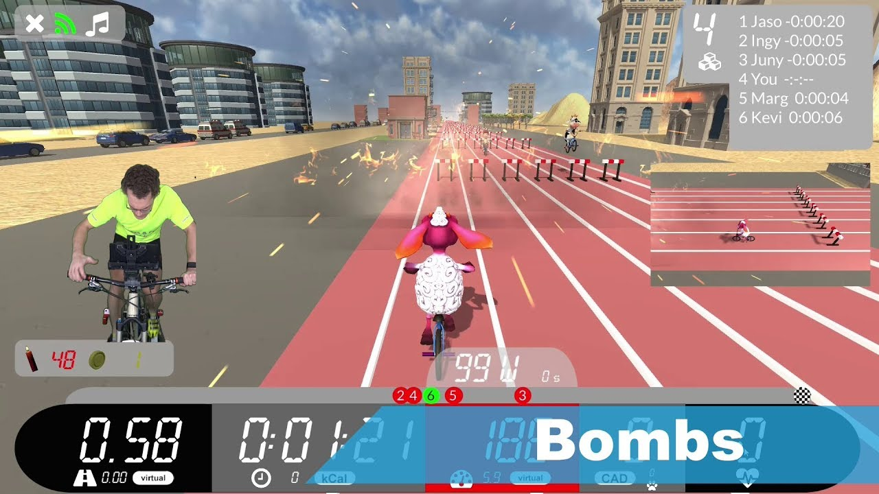 Arcade Fitness : Indoor Cycling app for Windows and Android