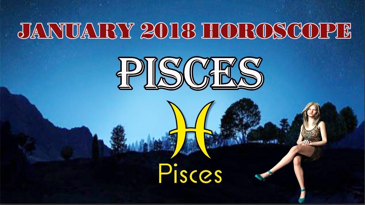 Horoscope for January 2018 for Pisces 29