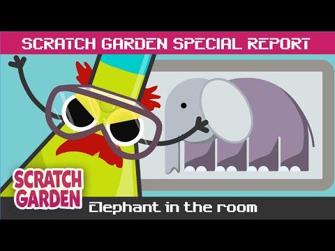 SPECIAL REPORT: Elephant in the Room! | Scratch Garden