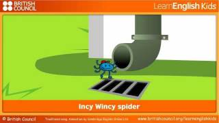 Incy Wincy spider - Nursery Rhymes & Kids Songs - LearnEnglish Kids British Council