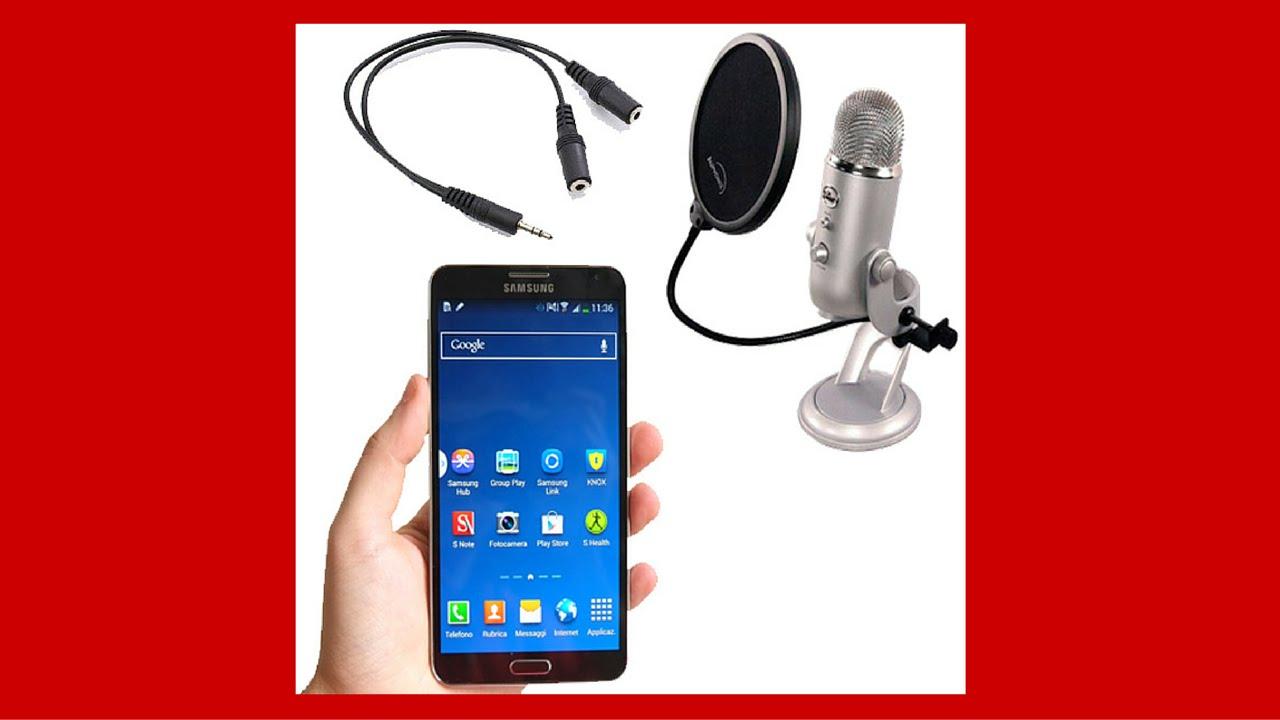 Come Usare Microfono Esterno Sul Telefono Youtube