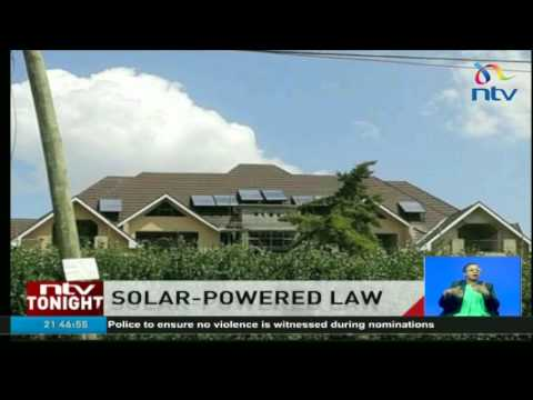 Properties should have solar water heating systems -  ERC