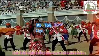 Hum Banjaron Ki Baat Mat Poochho Ji Hindi karaoke for Male singers with lyrics