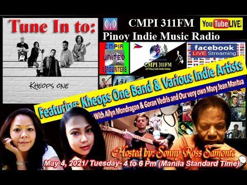 CMPI 311FM Pinoy Indie Music Radio Station Youtube Live