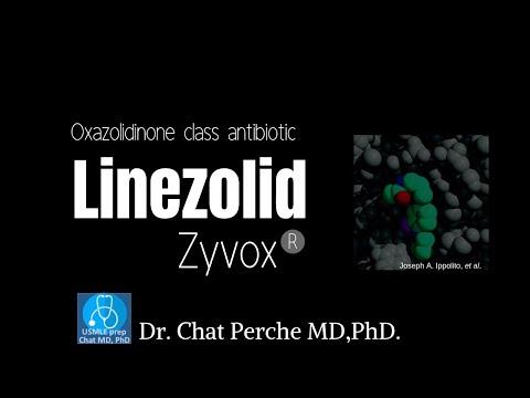 Linezolid(Zyvox)  ; Mechanism Of Action【USMLE, Pharmacology】