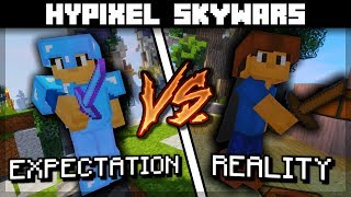 Expectation VS Reality | Hypixel Skywars | Bitzel