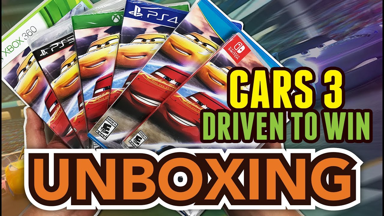 Disney Pixar S Cars 3 Driven To Win Ps4 Xbox One Switch Wii U