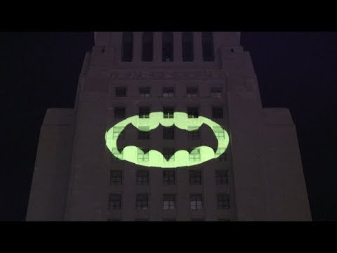 Bat Signal Lights Up Los Angeles In Tribute To Batman Adam West