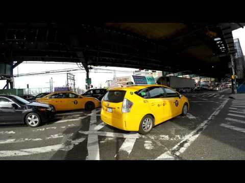 ⁴ᴷ NYC Traffic Blocking the Box / Gridlock 【1 Hour 27 Minutes】