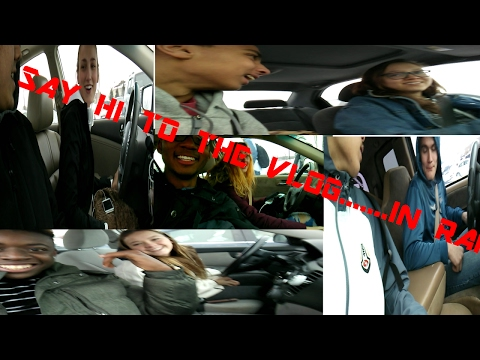 Say hi to the vlog......IN RANDOM CARS!!!!!