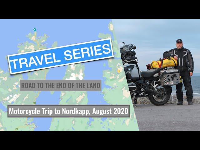 How to reach the northernmost point on the European mainland: My motorcycle trip to the Nordkapp.