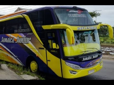 Bus Mania Indonesia  Wonosobo Jet Bus SHD Tolelet Keren by Jamaica Junior