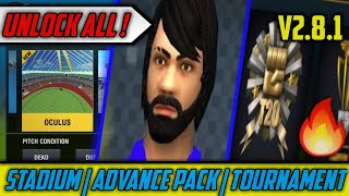 How to Unlock Tournament, Advance Pack and All Stadiums in WCC2 2.8.2.1 | WCC2 2.8.2.1