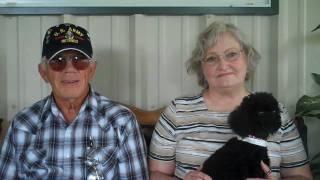 Donna & David adopt a poodle