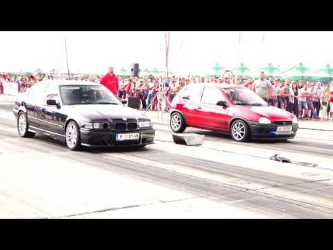 BMW E36 2.0 TURBO Vs OPEL CORSA TURBO