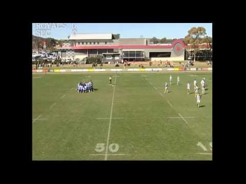 Canberra Royals Rugby Under 15's 2014 Grand Final vs SEC