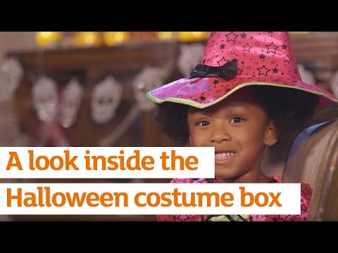 A look inside the Halloween costume box | Sainsbury's | Autumn 2016