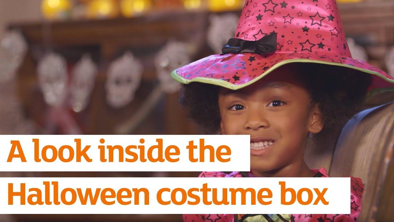 a look inside the halloween costume box sainsburys autumn 2016