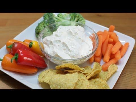 How To Make Garlic Dip   Easy Creamy Garlic Dip Recipe