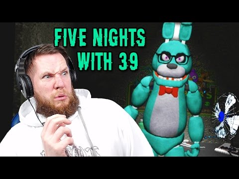 STRANGE FNAF PARODY GAME! - Five Nights With 39 (Nights 1, 2 & 3 COMPLETED!) | Is It Scary?