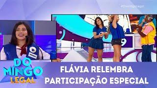 Baixar Flávia Pavanelli relembra participação especial   Domingo Legal (13/05/18)