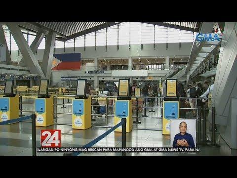 24 Oras: Commercial flights patungong Naga, Cagayan de Oro at General Santos City, lumipad mula NAIA