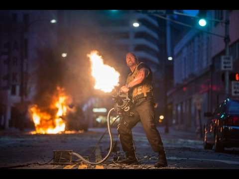 Watch Jason Statham and The Rock Fight in New 'Furious' 7 Clip