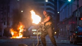 Watch Jason Statham and The Rock Fight in New