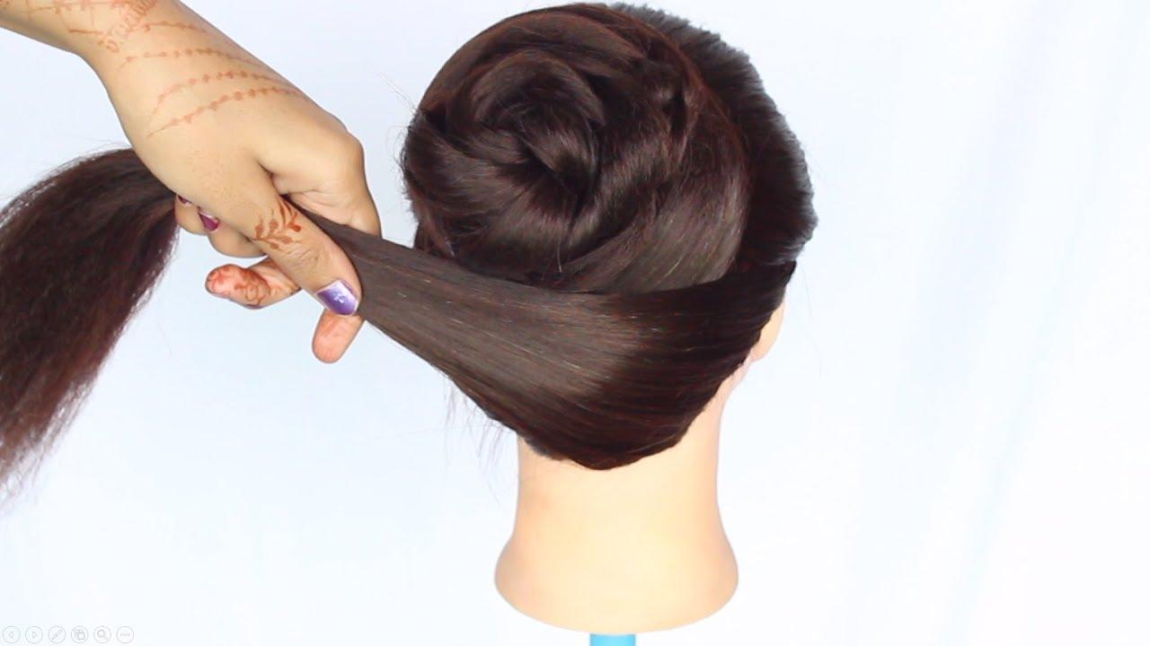 summer messy bun || juda hairstyle || juda || hair bun || how to do a messy bun || bun ...