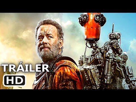 FINCH Tráiler Español Latino Subtitulado (2021) Tom Hanks